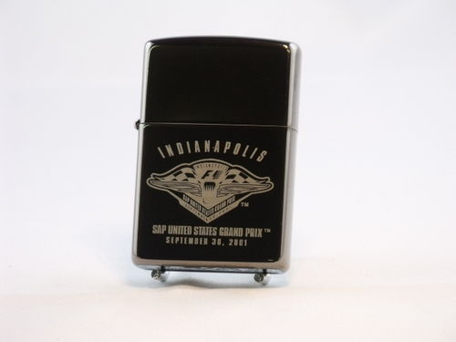 Zippo Black Ice Indianapolis Limited Edition