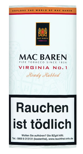 Mac Baren Virginia No. 1 50g
