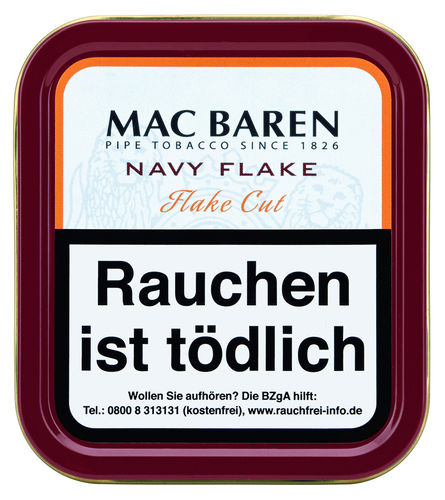 Mac Baren Navy Flake 50g