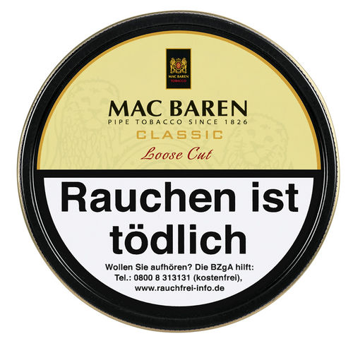 Mac Baren Classic Losse Cut (Vanilla Cream) 100g