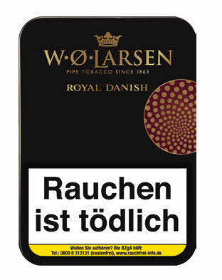 W.O. Larsen Royal Danish 100g