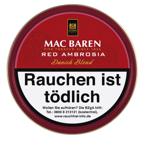 Mac Baren Red Ambrosia (Cherry Ambrosia) 100g