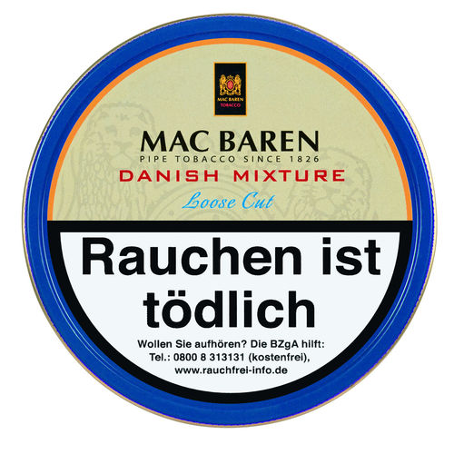 Mac Baren Danish Mixture (Aromatic) 100g