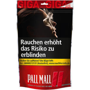 Pall Mall Red 150g Giga Beutel