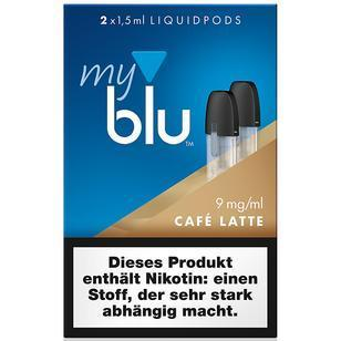 My Blu Cafe Latte 2 Pods