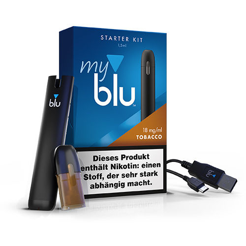 My Blu Starterkit Tobacco  1 Pods 18mg