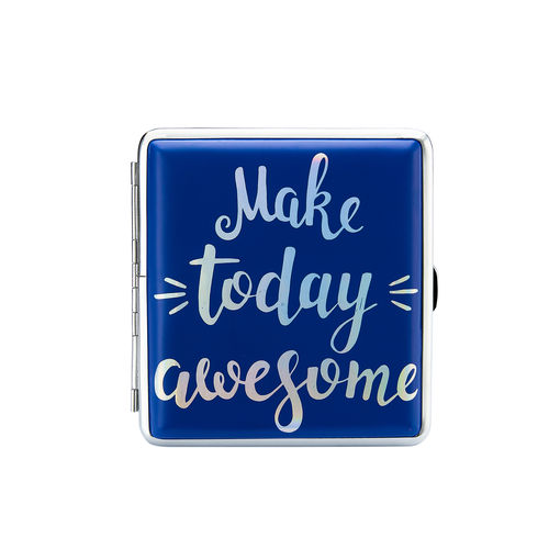 "Zigaretten-Etui Happy Mood ""Make today awesome"""