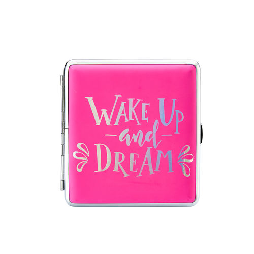 "Zigaretten-Etui Happy Mood ""Wake up and dream"""